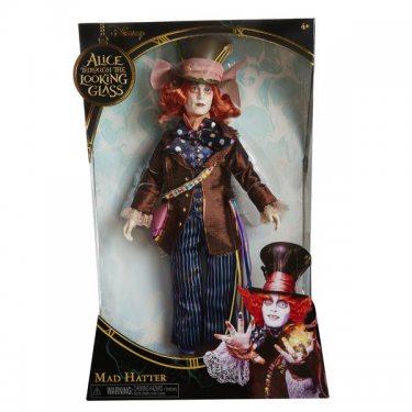 Коллекционная кукла Сумасшедший Шляпник де люкс 30 см