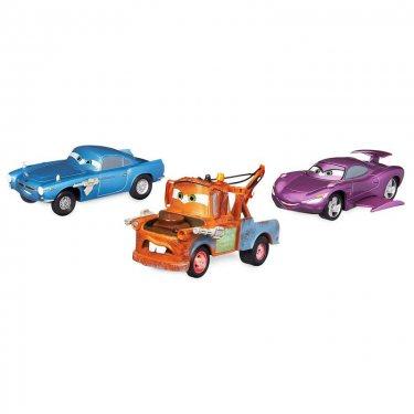 Cars Набор из 3-х тачек Холли Делюкс, Мэтр, Финн МакМиссл (Дисней)