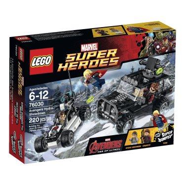 Конструктор Lego Super Heroes 76030 Лего Супер Герои Гидра против Мстителей