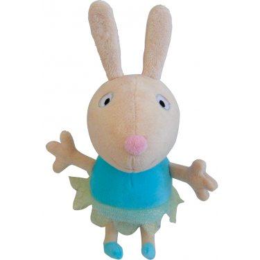 Мягкая игрушка Свинка Пеппа - Кролик Ребекка балерина 20 см
