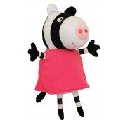 Мягкая игрушка Свинка Пеппа - Зебра Зои 20 см