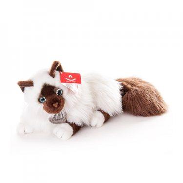 Мягкая Игрушка Лежачая Сиамская Кошка (45 см)