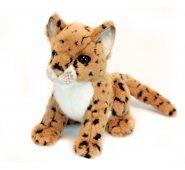 Мягкая игрушка Hansa Леопард 2455, 16 см