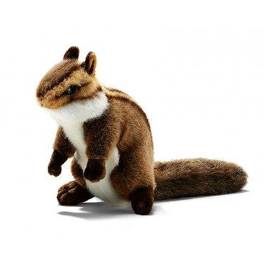 Мягкая игрушка Бурундук сидящий 3090, 16 см, Hansa