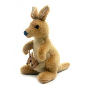 Мягкая игрушка Кенгуру 3424, 20 см, Hansa