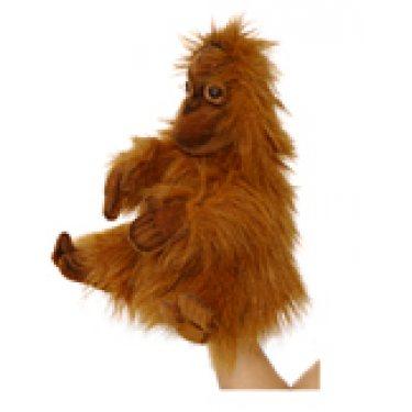 Малыш орангутанга 4038, игрушка на руку, 25 см, Hansa