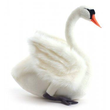 Мягкая игрушка Лебедь белый 4083, 45 см, Hansa