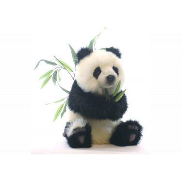 Мягкая игрушка Детеныш панды 4183, сидящий, 41 см, Hansa