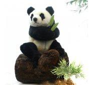Мягкая игрушка Панда сидящая 4184, 25 см, Hansa
