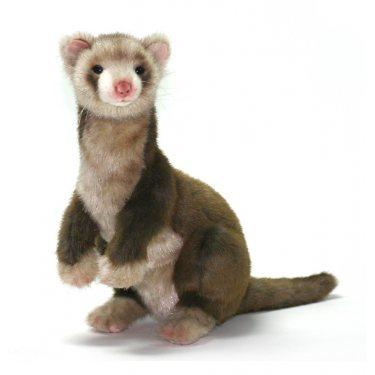 Мягкая игрушка Хорек коричневый 4556, 32 см, Hansa