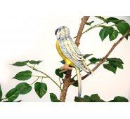 Мягкая игрушка Попугай волнистый голубой 4653П, 15 см, Hansa