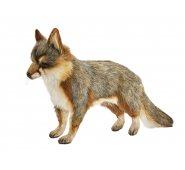 Мягкая игрушка Hansa 4700Л Серая лисица стоящая, 40 см