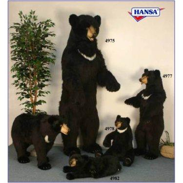 Мягкая игрушка Медвежонок лежащий 4982 , 90 см, Hansa
