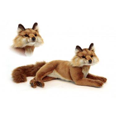Мягкая игрушка 6087 Красная лиса лежащая