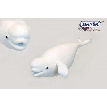 Мягкая игрушка Hansa 6626 Кит Белуха, 42 см