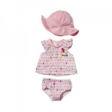 Одежда для куклы Zapf Creation Baby born 819-388 Бэби Борн Одежда летняя, в ассортименте