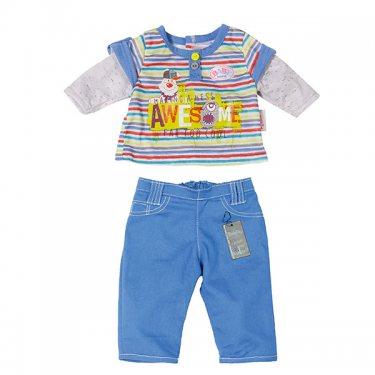 Синяя Стильная одежда для мальчика (Zapf Creation)