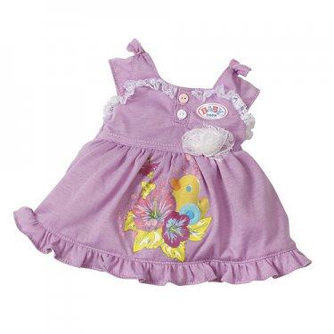 Одежда для куклы Zapf Creation Baby born 819-418 Бэби Борн Платье, в ассортименте