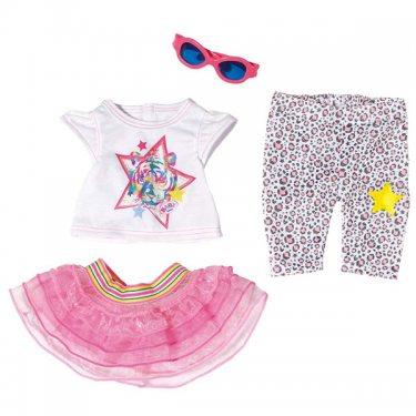 Одежда для куклы Zapf Creation Baby born 822-241 Бэби Борн Одежда для прогулки
