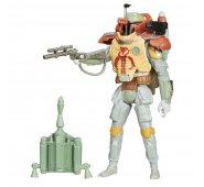 Звездные войны фигурка Боба Фетт с оружием (9,5 см)