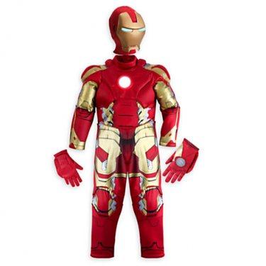 Детский костюм Железного человека с рельефом (5-6 лет)