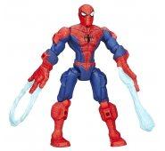 Фигурка Человек-Паук разборная с паутиной в виде петли Super Hero Mashers
