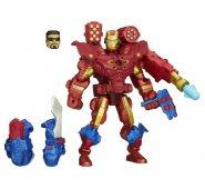Фигурка электронная Железный Человек разборная с набором оружия Super Hero Mashers