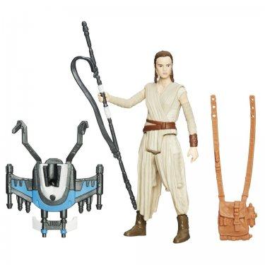 Фигурка Рей с оружием и аксессуарами (10 см) Звездные войны
