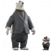 Фигурки мистер Биг и его белый медведь-телохранитель Козлов