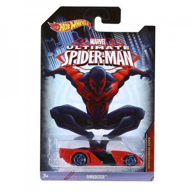 Машинка Hot Wheels Совершенный Человек-Паук (Shredster)
