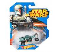 Машинка Hot Wheels Боба Фетт Звездные войны