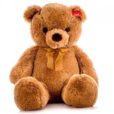Мягкая игрушка Aurora Аврора Медведь коричневый, 80 см