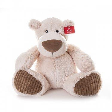 Мягкая игрушка Aurora Аврора Медведь Латте 38 см