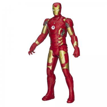 Интерактивная игрушка фигурка Железный человек 30 см со светом и звуком. Серия Титаны