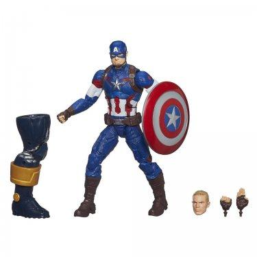 Коллекционная фигурка Капитан Америка Легенды Марвел (15 см)