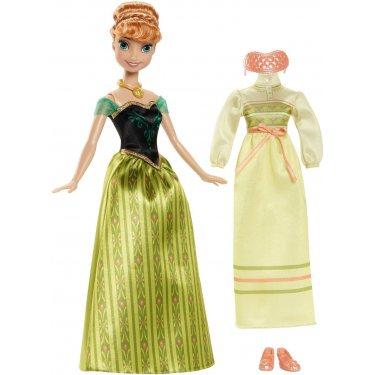 Кукла Анна Холодное сердце с дополнительным нарядом