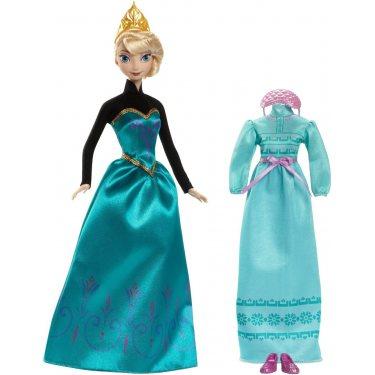 Кукла Эльза Холодное сердце с дополнительным нарядом