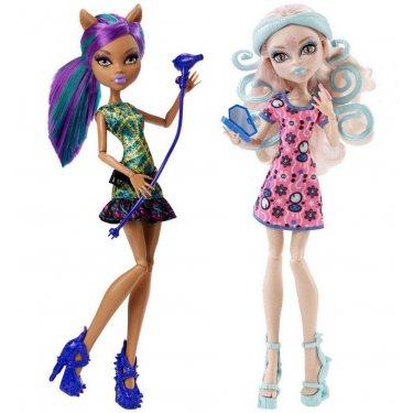 Куклы Вайперин и Клодин Вульф - Пугающий Макияж