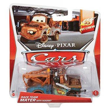 Cars Литая машинка Мэтр в наушниках