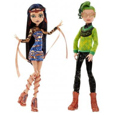 Куклы Клео Де Нил и Дьюс Горгон - Бу Йорк
