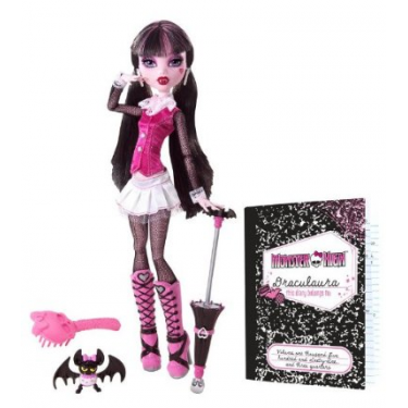 Кукла Дракулаура - Базовая с Питомцем (ОРИГИНАЛ)