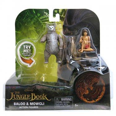 Набор из 2-х фигурок Маугли и Балу Книга Джунглей