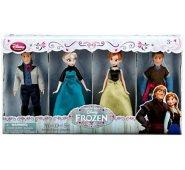 Набор из 4 героев Холодное сердце (Эльза, Анна, Кристоф и Ханс) 14 см