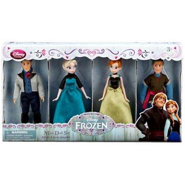 Набор из 4 героев Фрозен (Эльза, Анна, Кристоф и Ханс) 14 см