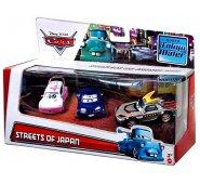 Cars Набор из трех тачек STREET OF JAPAN