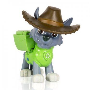 Щенок Роки в ковбойской шляпе с рюкзачком-трансформером