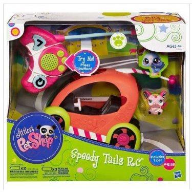 Питомец с машинкой на радиоуправлении Littlest Pet Shop