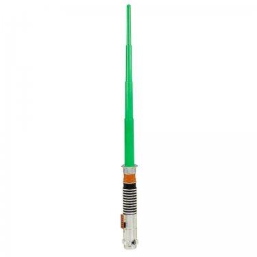Раздвижной меч Люка Скайвокера зеленый (Звездные Войны)