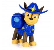 Щенок Гонщик (Чейз) в ковбойской шляпе с рюкзачком-трансформером