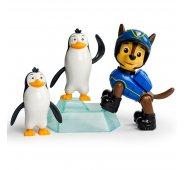 Щенячий патруль - щенок Чейз (Гончик) с пингвинами